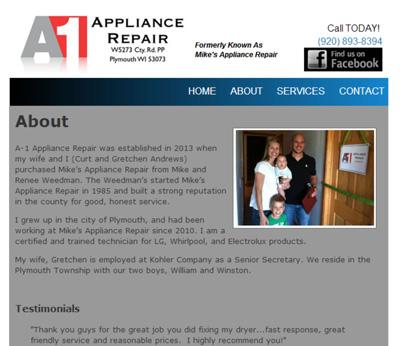 A1 Appliance Repair