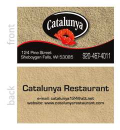 Catalunya Business Card
