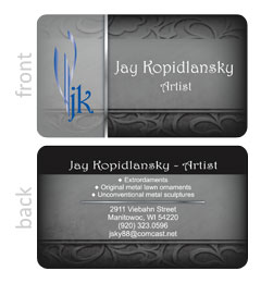 JK Art Business Card
