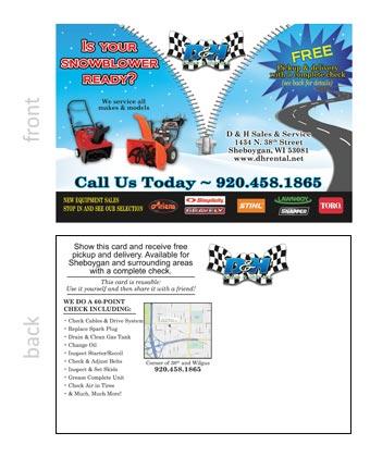 D&H Sales Post Card