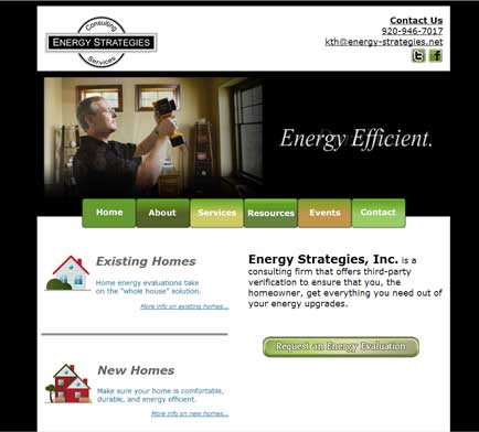 Energy Strategies Website